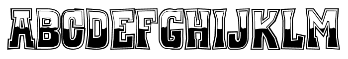 Whiskey Town Buzzed Font UPPERCASE