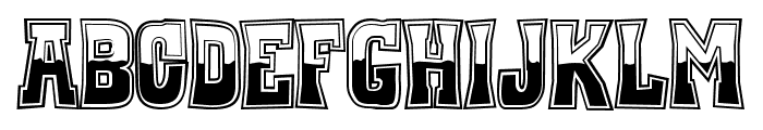 Whiskey Town Buzzed Font LOWERCASE