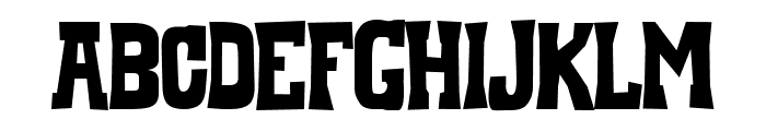 Whiskey Town Sober Font LOWERCASE