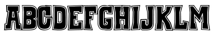 WhiskeyTown-Drunk Font UPPERCASE
