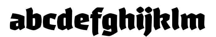 Whisky-1890 Font LOWERCASE