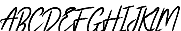 White Balance Font UPPERCASE