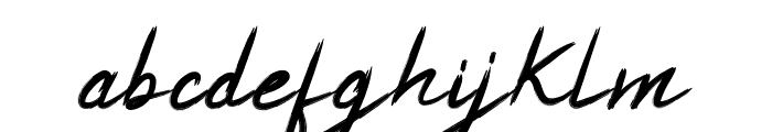 White Balance Font LOWERCASE