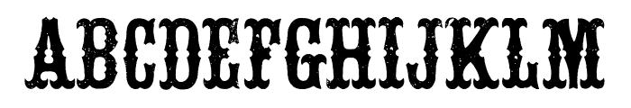 White Vinegar Regular Font UPPERCASE