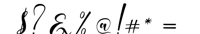 WhitedoveScript Font OTHER CHARS