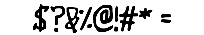 Wibble Font OTHER CHARS