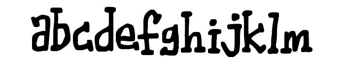 Wibble Font LOWERCASE