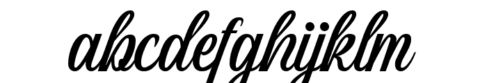Wildcats Font LOWERCASE