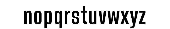 WillstandSans Font LOWERCASE