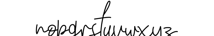 Winchester Alternate Font LOWERCASE