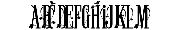 Winchester Ornate Font UPPERCASE