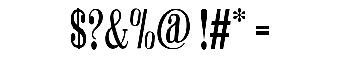 Winchester Regular Font OTHER CHARS