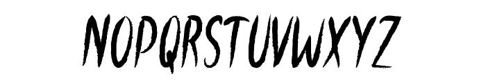 Windowsill Font UPPERCASE