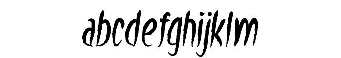 Windowsill Font LOWERCASE