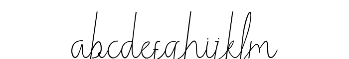 Winestoffthecollection Font LOWERCASE