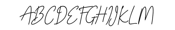 Winston Kohn Font UPPERCASE