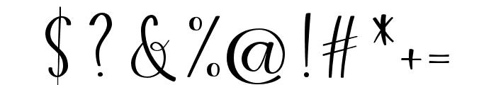 Winter Blush Script Font OTHER CHARS