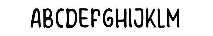 Winter Poppins Font UPPERCASE