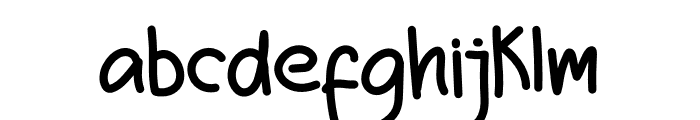 Winter Smile Font LOWERCASE