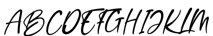 Winter Wedding Font UPPERCASE