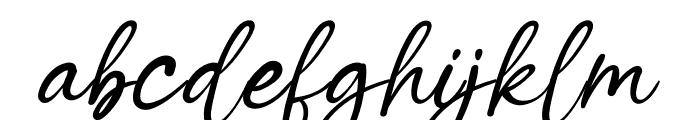 Winter Wedding Font LOWERCASE