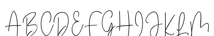 Winterous Font UPPERCASE