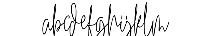 Winterous Font LOWERCASE