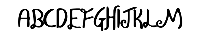 Wisp Regular Font UPPERCASE