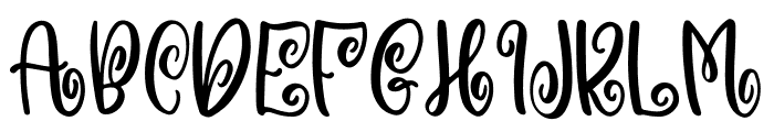 Witchcraft & Wizardry Font UPPERCASE