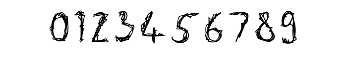 Wizards Scribble Font OTHER CHARS