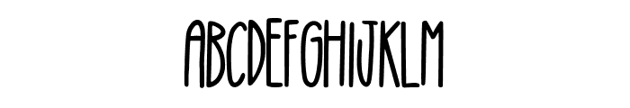 Wonderful Willow Font UPPERCASE