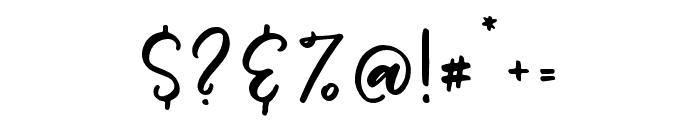 Woodbine-Alt Font OTHER CHARS