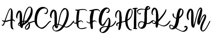 Woodbine-Alt Font UPPERCASE