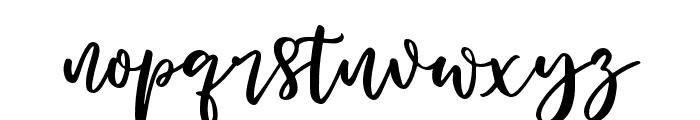 Woodbine-Alt Font LOWERCASE