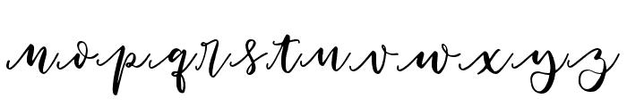Woodbine-Swashes Font UPPERCASE