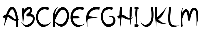 Wooden Fence Font UPPERCASE