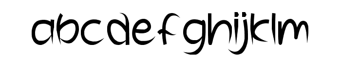 Wooden Fence Font LOWERCASE