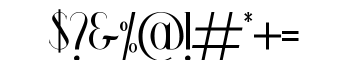 Wooden Okadio Font OTHER CHARS