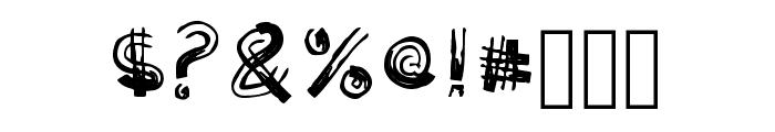 Woody Comic Regular Font OTHER CHARS