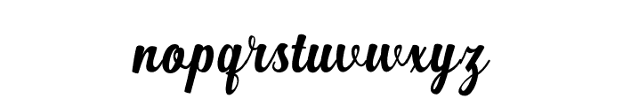 Workside Font LOWERCASE