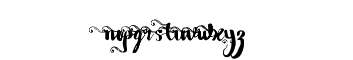 Wowangle SS05 Font LOWERCASE
