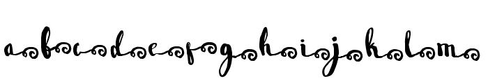 Wowangle SS06 Font LOWERCASE