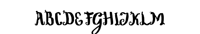 Wowangle Swash Lowercase Font UPPERCASE