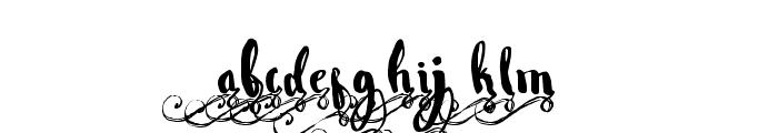 Wowangle Swash Lowercase Font LOWERCASE