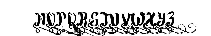 Wowangle Swash Uppercase Font UPPERCASE