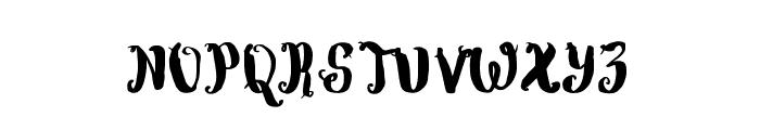 WowangleBrush Font UPPERCASE