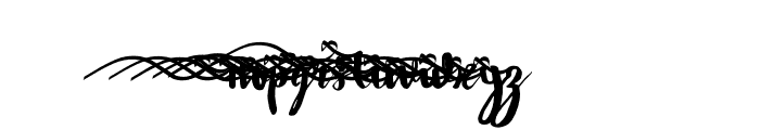 WowangleSS02 Font LOWERCASE