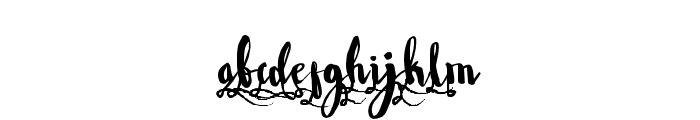 WowangleSS1 Font LOWERCASE