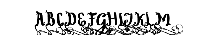 WowangleSwashUppercase Font UPPERCASE