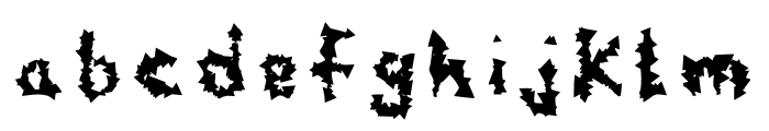 Wuzang Font LOWERCASE